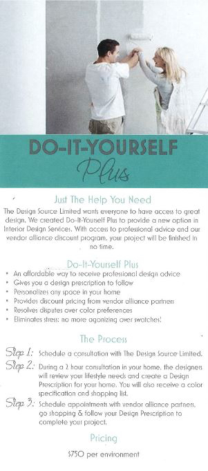 We Created Do It Yourself Plus To Provide A New Option In Interior Design